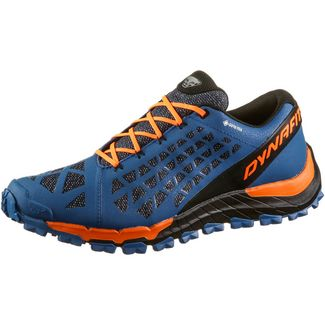Dynafit Trailbreaker Evo Gore-Tex Trailrunning Schuhe Herren Mykonos Blue-Shoking Orange