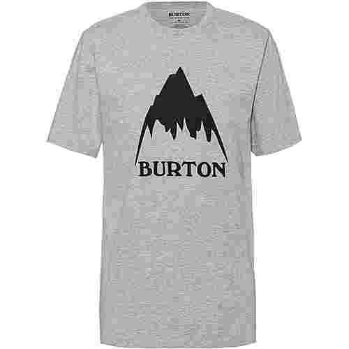 Burton Classic MTN High T-Shirt Herren gray heather