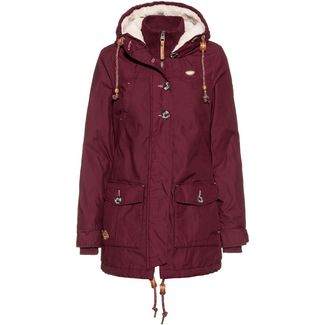 Ragwear Jane Parka Damen wine red