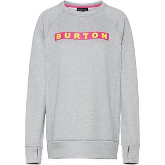 Burton Oak Sweatshirt Damen gray heather