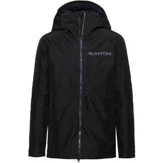 Burton GORE-TEX® Radial Slim Snowboardjacke Herren true black-castlerock-flame scarlet