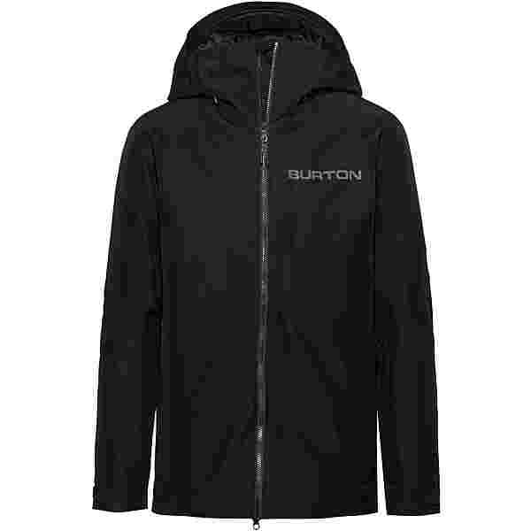 Burton GORE-TEX Radial Slim Snowboardjacke Herren true black-castlerock-flame scarlet