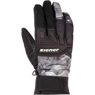Ziener Garim AS(R) Glove Ski Alpine Skihandschuhe Herren grey mountain print