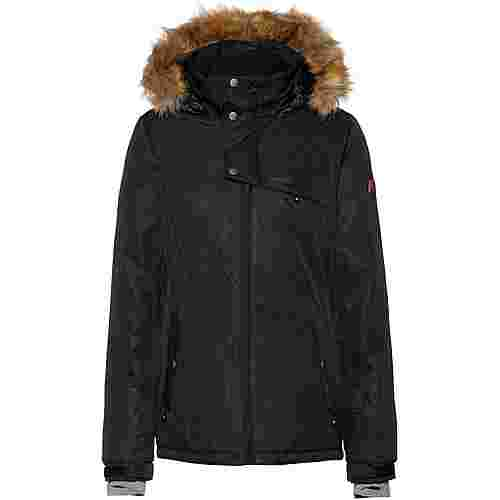 Protest Peaceful Skijacke Damen true black