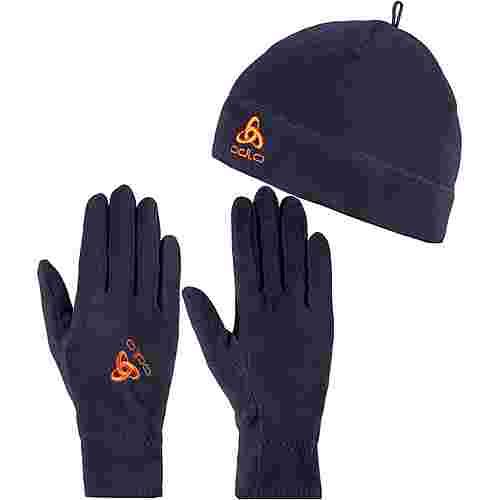 Odlo Set Mütze und Handschuhe mitternachtsblau