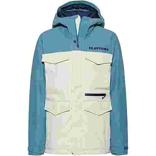 Burton Covert Snowboardjacke Herren almond milk-storm blue ripstop