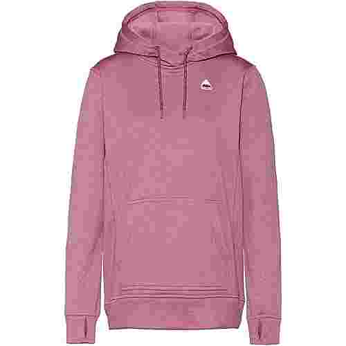 Burton Oak Hoodie Damen rose brown heather