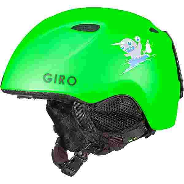 Giro Slingshot Skihelm Kinder matte bright green