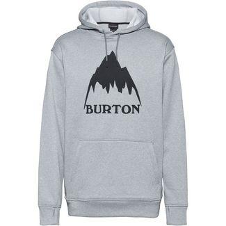 Burton Oak Hoodie Herren mountain gray heather