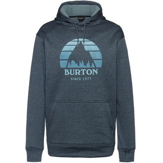 Burton Oak Hoodie Herren sunset dress blue heather