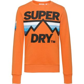 Superdry Downhill Racer Sweatshirt Herren mojave orange