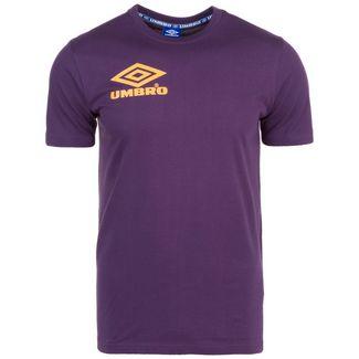 UMBRO Classico Crew T-Shirt Herren lila / gelb