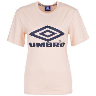 UMBRO Boyfriend Fit Logo T-Shirt Damen rosa