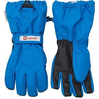 Lego Wear Fingerhandschuhe AIDEN 703 Skihandschuhe Kinder Blue