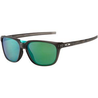 Oakley Oakley Anorak Sonnenbrille matte grey smoke with prizm jade