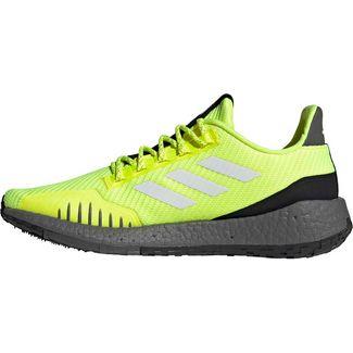 adidas PULSE BOOST HD Laufschuhe Herren solar-yellow