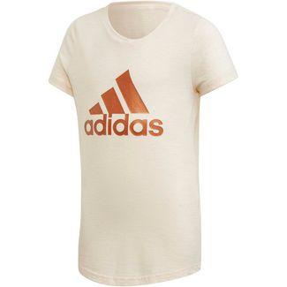 adidas YG ID WINNER T Funktionsshirt Kinder linen-white