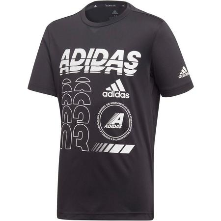 adidas YB TR BR TEE Funktionsshirt Jungen Funktionsshirts 164 Normal | 04061624799981