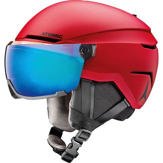 ATOMIC Savor Visor Stereo Skihelm red