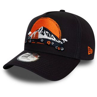 New Era Trucker Far East Trucker Cap new era navy-optic white-rush orange