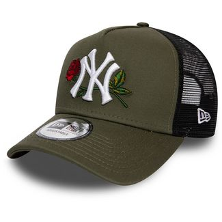 New Era Trucker New York Yankees Cap new olive