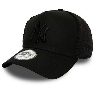 New Era Trucker Sherpa New York Yankees Cap black-old gold