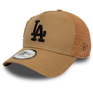 New Era Trucker Sherpa Los Angeles Dodgers Cap old gold-black