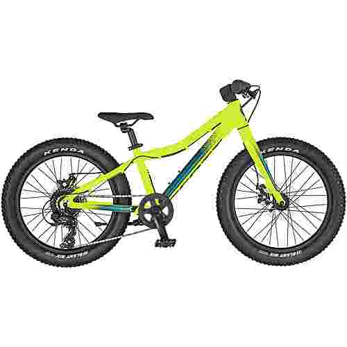SCOTT Roxter 20'' MTB Hardtail Kinder yellow;cobalt blue