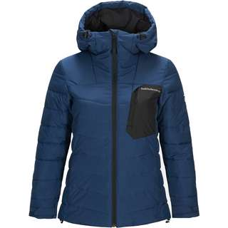 Peak Performance PLACE Skijacke Damen decent blue