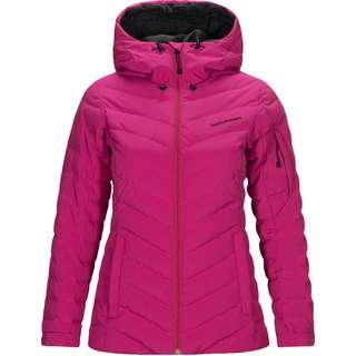 Peak Performance Frost Skijacke Damen power pink