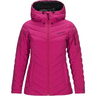 Peak Performance Frost Skijacke Damen power pink