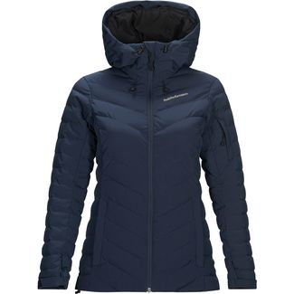 Peak Performance Frost Skijacke Damen blue shadow