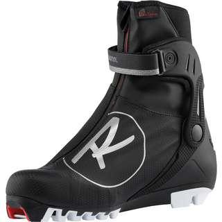 Rossignol X-10 SKATE FW Langlaufschuhe Damen schwarz-weiß