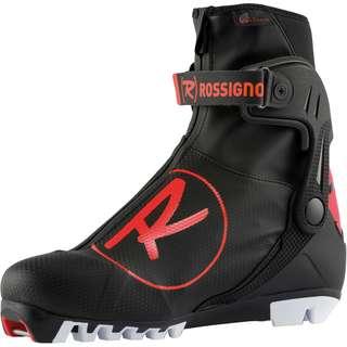 Rossignol X-10 SKATE Langlaufschuhe schwarz-rot-weiß