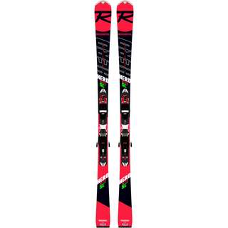 Rossignol HERO ELITE SL LTD + XPRESS 11 GW Race Carver schwarz-rot-weiß