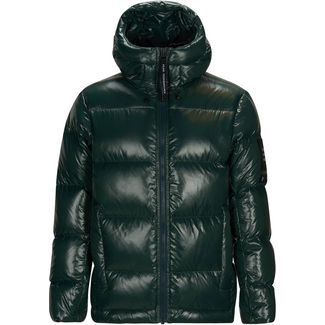 Peak Performance Moment Daunenjacke Herren scarab green
