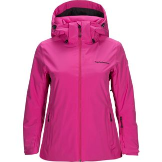 Peak Performance Anima Skijacke Damen power pink