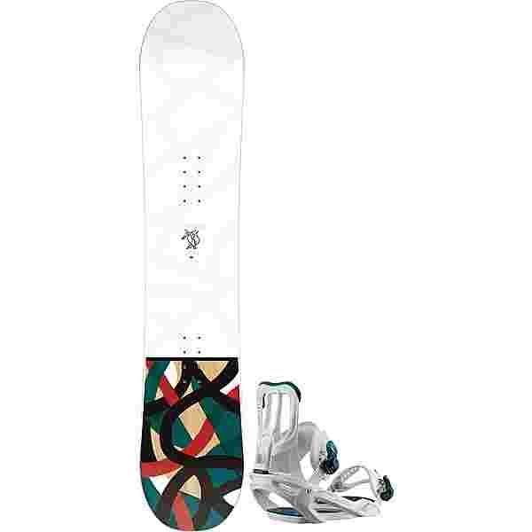 Salomon Set Lotus + Spell All-Mountain Board Damen spell white