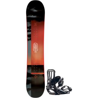 Salomon Set Pulse + Pact All-Mountain Board Herren pact black