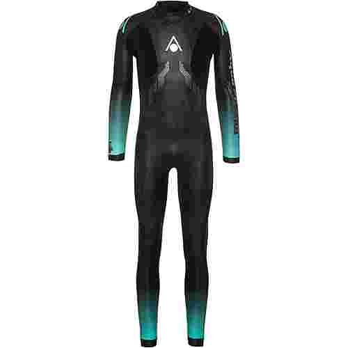 Aqua Sphere FULL SUIT AQUASKIN Neoprenanzug Herren black-turquoise