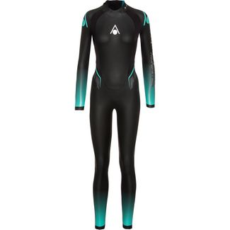 Aqua Sphere FULL SUIT AQUASKIN Neoprenanzug Damen black-turquoise