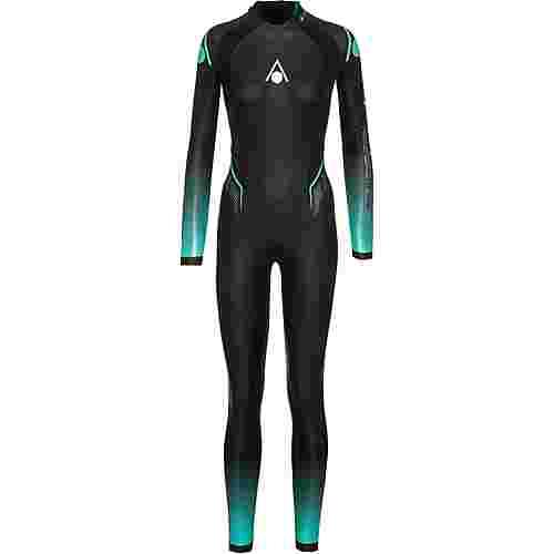 Aqua Sphere FULL SUIT AQUASKIN Neoprenanzug Damen black-turquoise