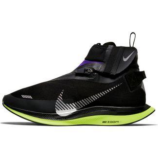 Nike Zoom Pegasus Turbo Shield WP Laufschuhe Damen black-metallic silver-voltage purple