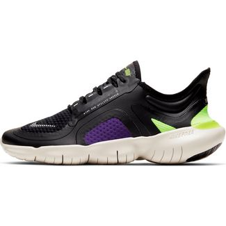 Nike Flex RN Feel Sneaker graugelb um 45% reduziert