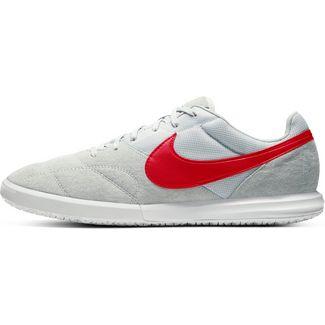 Nike Premier II Sala Fußballschuhe pure platinum-university red-white