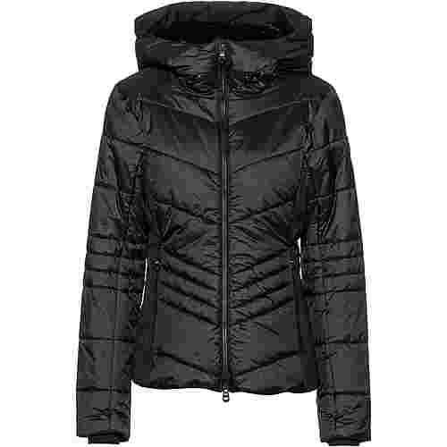 CMP Woman Jacket Fix Hood Steppjacke Damen nero