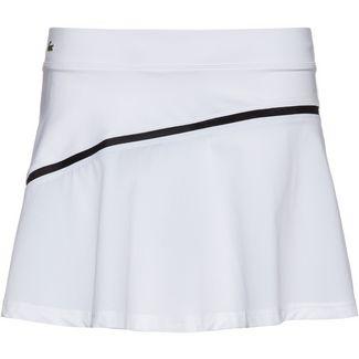 Lacoste Tennisrock Damen blanc-noir