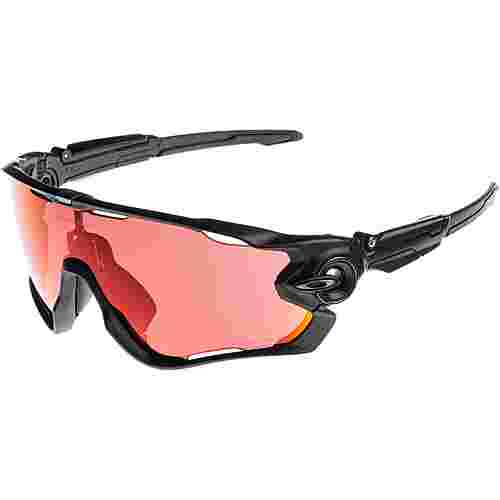 Oakley Jawbreaker Sportbrille matte black with prizm snow torch