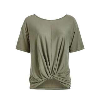 Khujo KEESA T-Shirt Damen oliv
