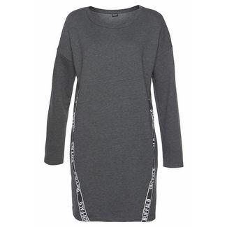 Buffalo Jerseykleid Damen meliert-anthrazit